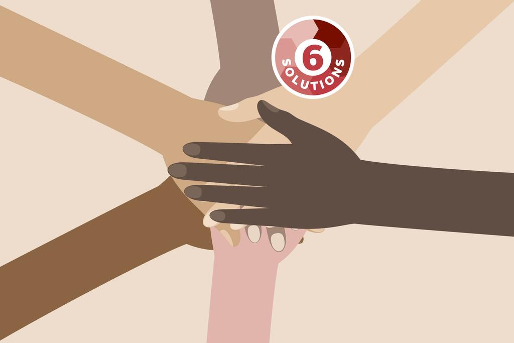 Six solutions contre le racisme
