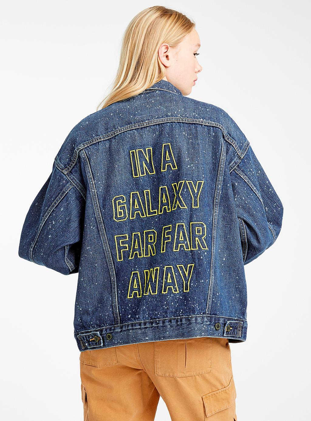 Veste de jeans de la collection Star Wars, 148 $ chez Simons.