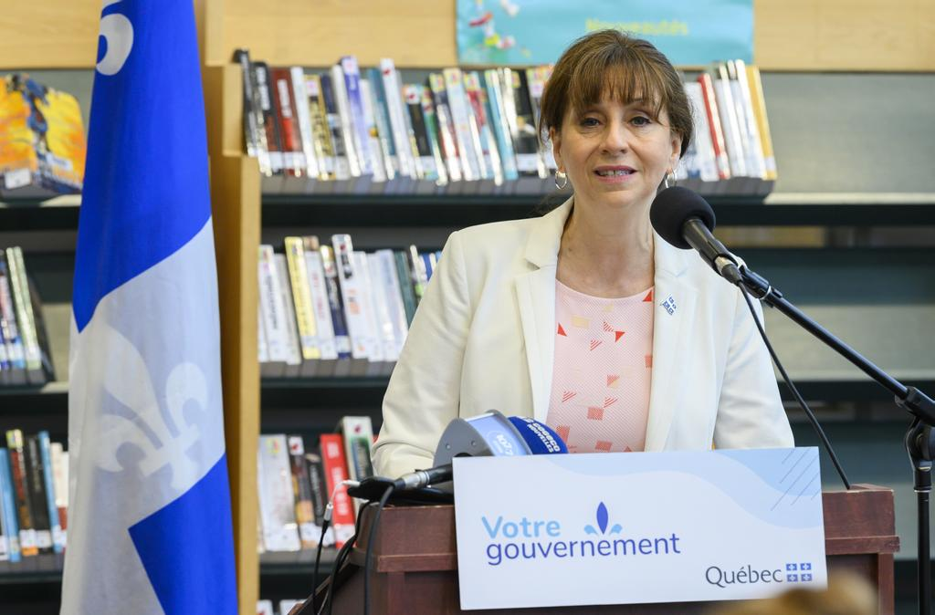 La ministre de la Culture et des Communications, Nathalie Roy