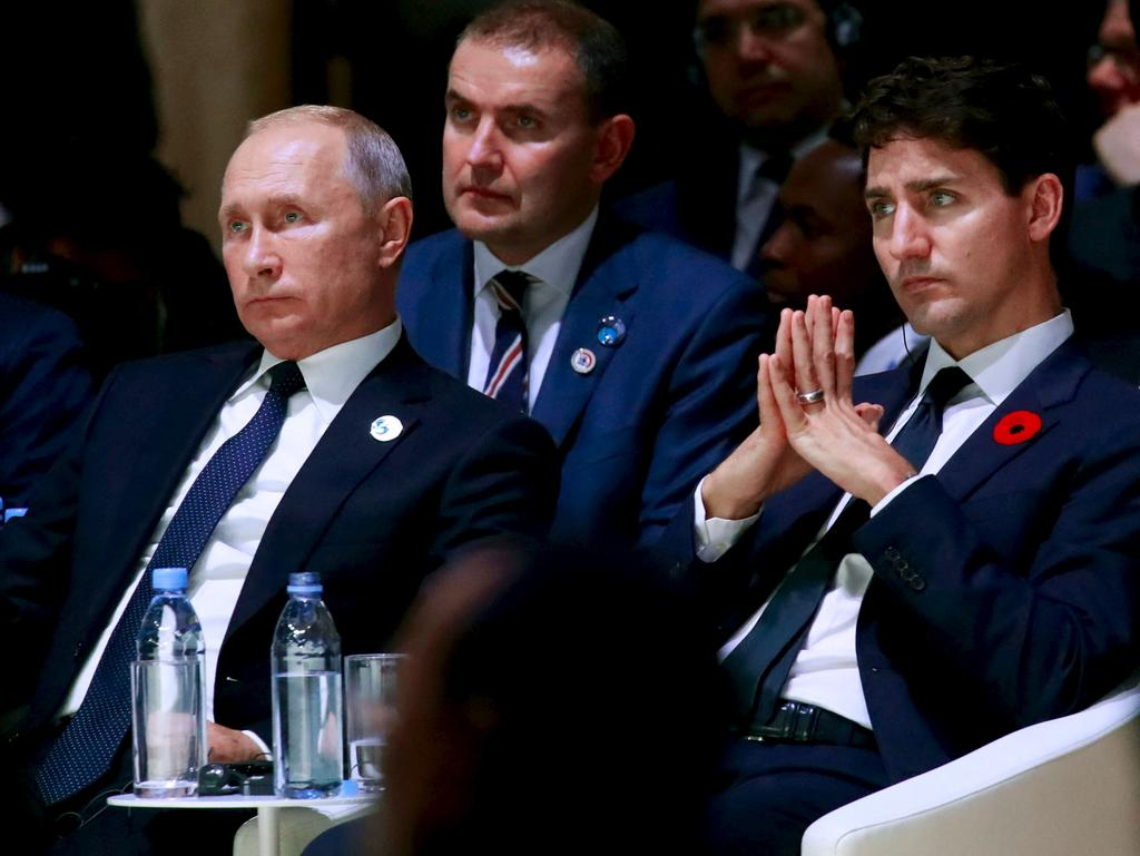 Poutine est responsable de «choses terribles», estime Trudeau