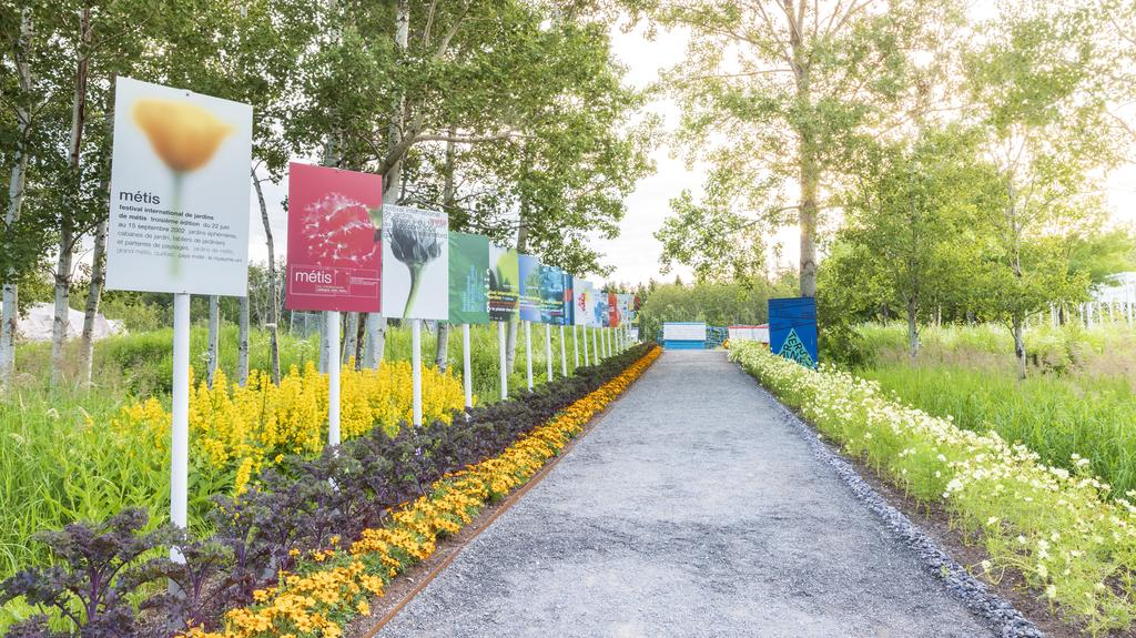 Le Festival international de jardins