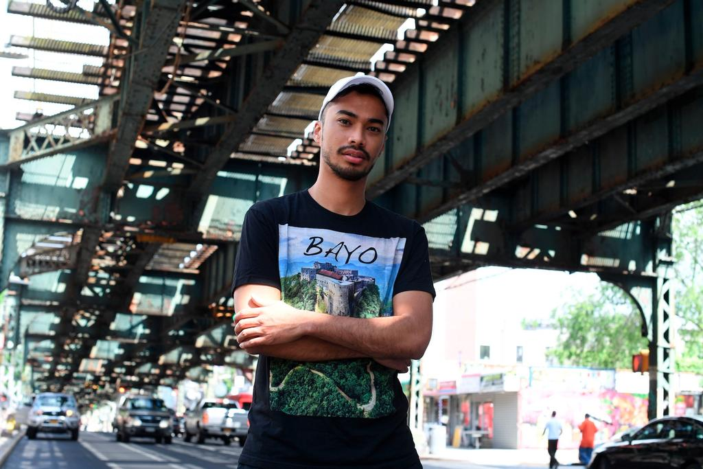 Michael Brun à Brooklyn, New York, le 6 juin dernier