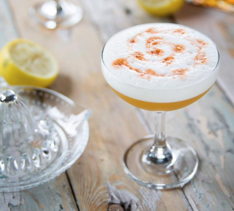 Amaretto Sour à la Monsieur Cocktail