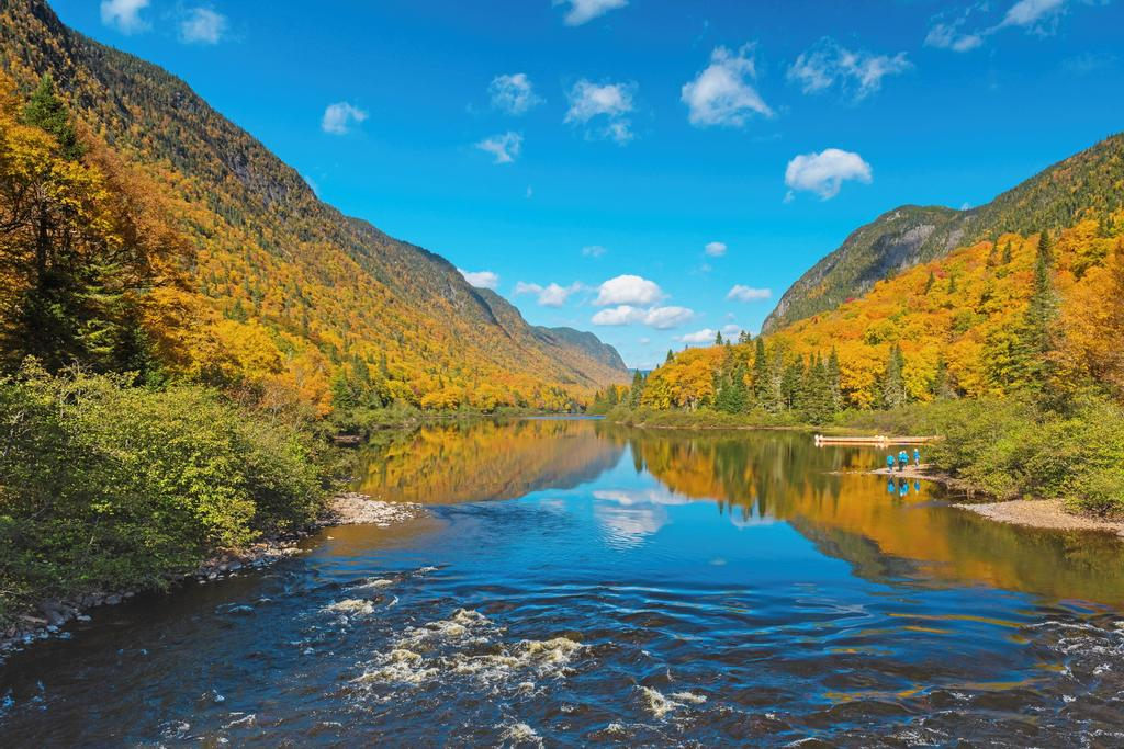 Le parc national de la Jacques-Cartier.