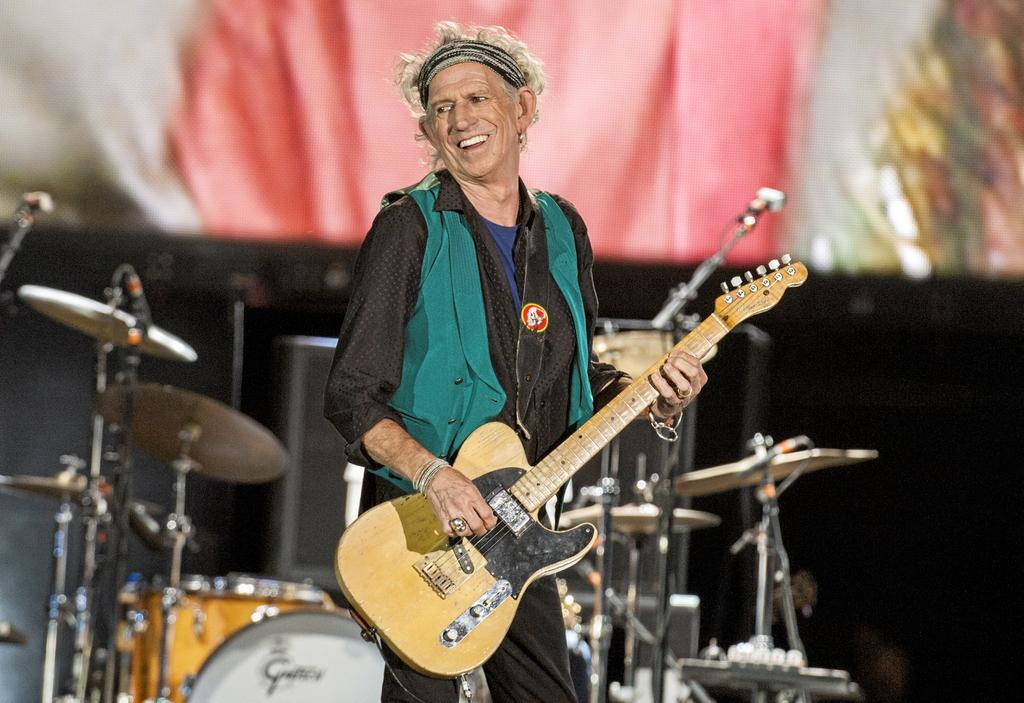 Keith Richards et les Rolling Stones, qui se sont produits au Festival d'été de Québec en 2015, participeront au concert <em>One World: Together At Home</em>.