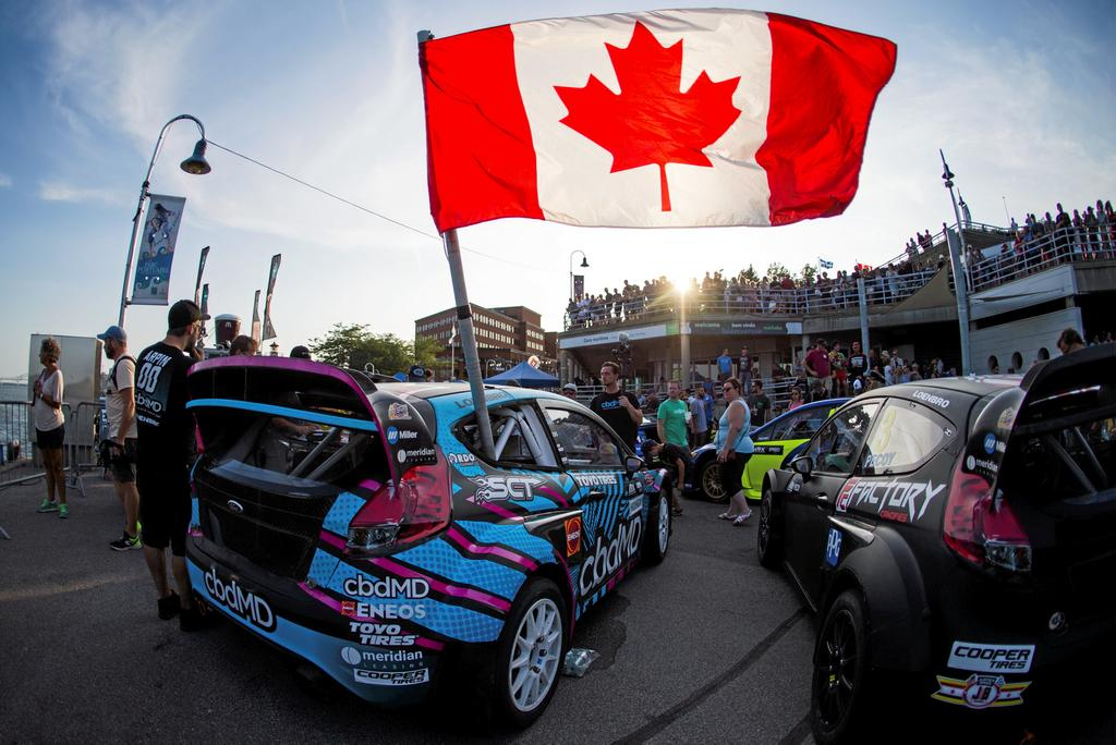 Photo: Olivier Croteau 2019/08/02 Trois-Rivieres Quebec Canada. GP3R. RallyCross.