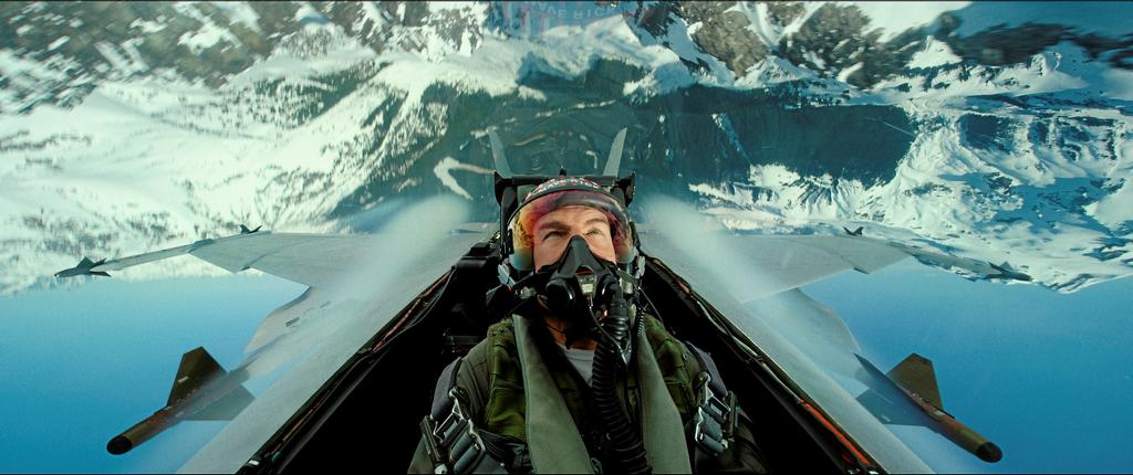Tom Cruise dans le film <em>Top Gun</em>