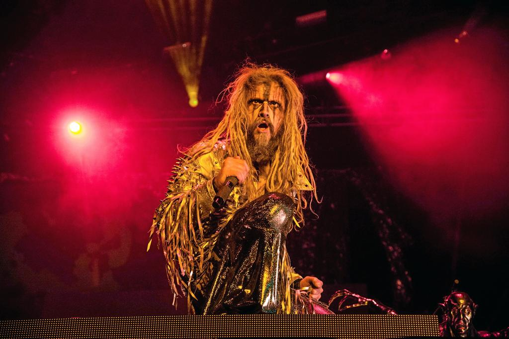 Rob Zombie en spectacle en 2017