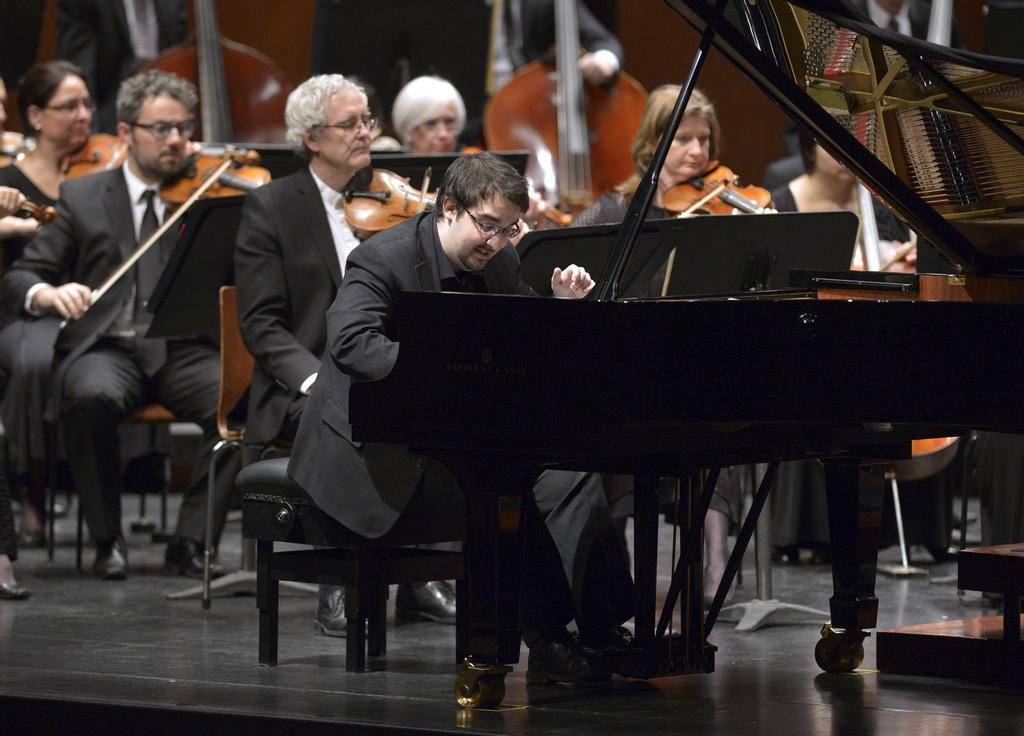 Le pianiste Charles Richard-Hamelin