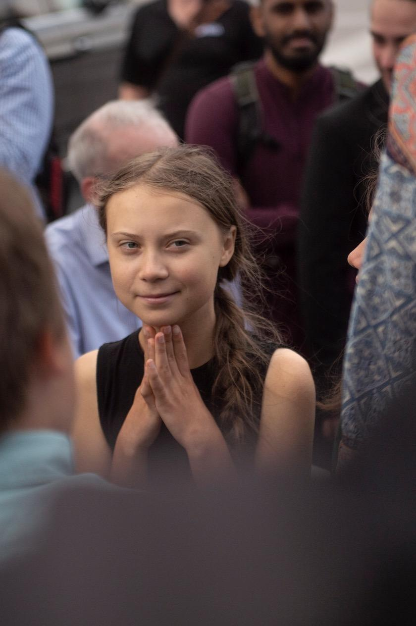 Greta Thunberg à Washington, le 17 septembre dernier
