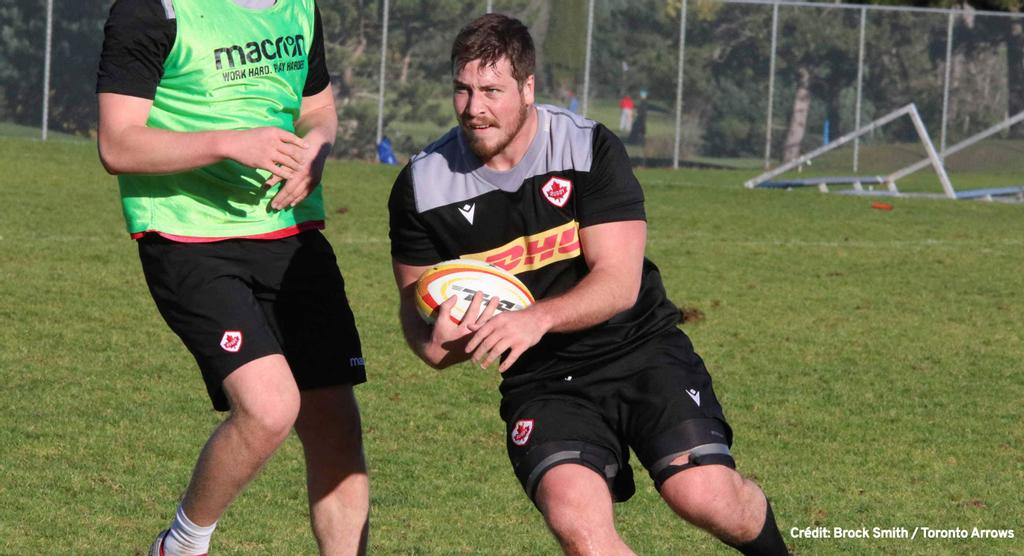 Marc-Antoine Ouellet: du football universitaire au rugby professionnel