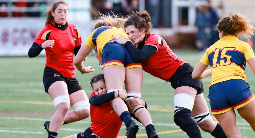 Fabiola Forteza, joueuse du Rouge et Or rugby.