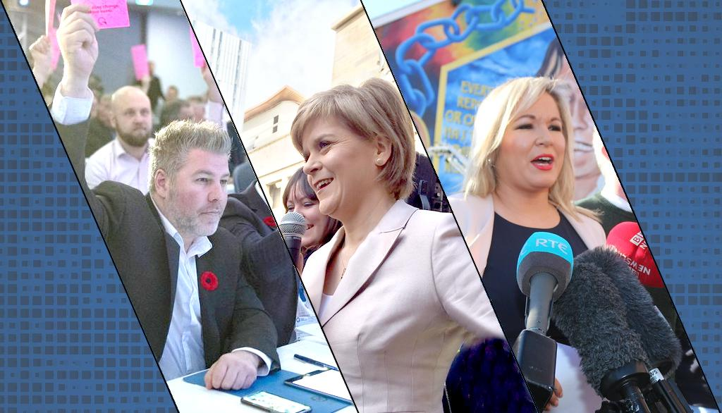 Parti québécois, Scottish National Party, Sinn Féin: une analyse comparative