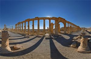 Grande colonnade, Palmyre, Syrie