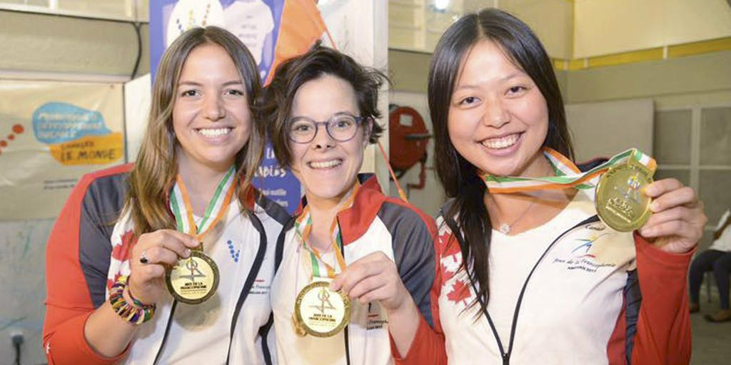 Julie Tremblay, Sonia li Trottier et Anne-Marie Smith