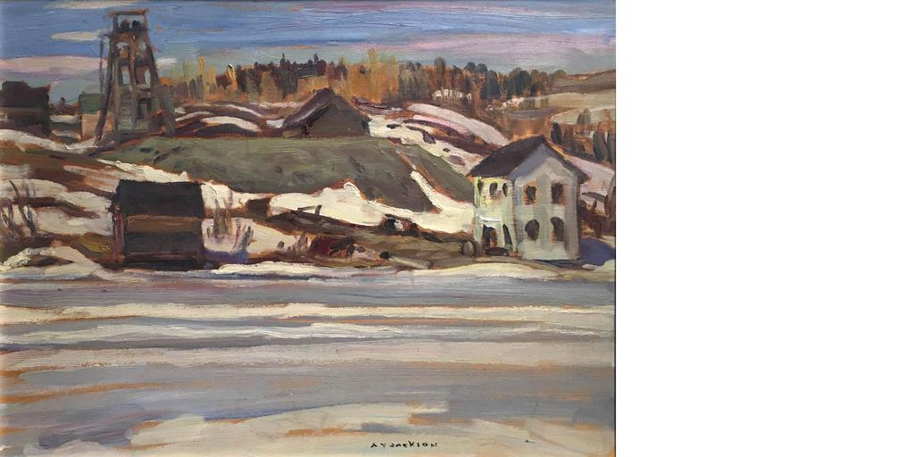 «Orlac mine Red Lake, Ont», A.Y Jackson