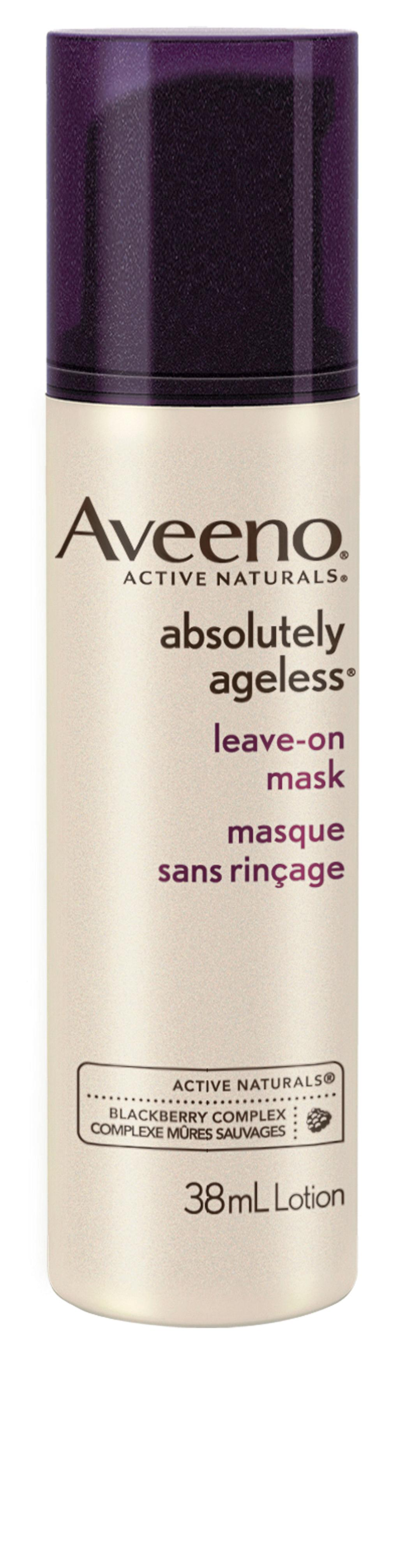 Masque sans rinçage Absolutely Ageless d'Aveeno, 29,99 $