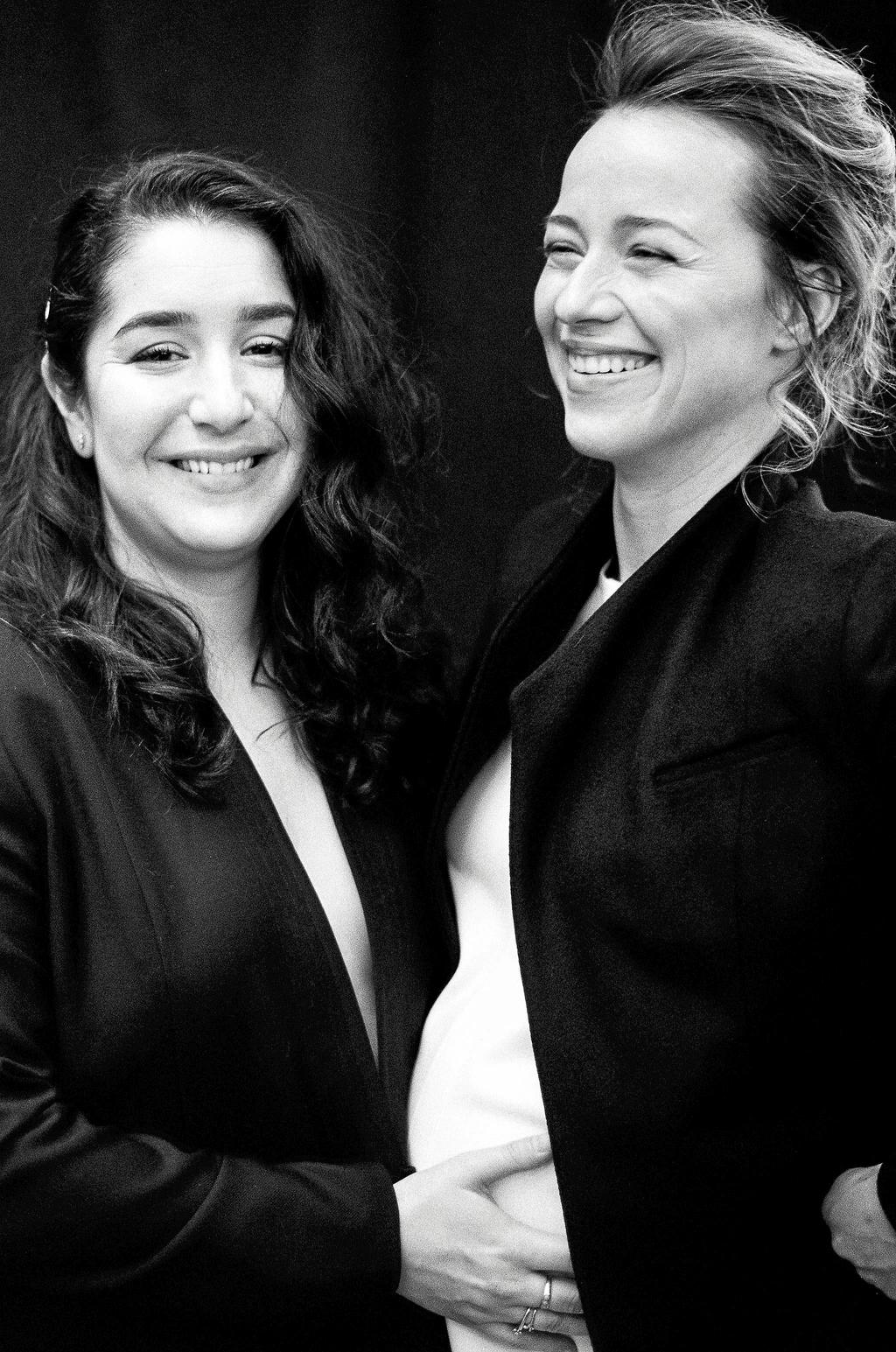 L'humoriste Mariana Mazza et l'actrice et productrice Karine Vanasse