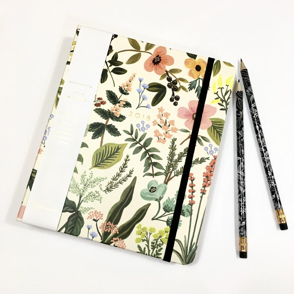 Agenda Rifle Paper 2018, 46 $ chez 