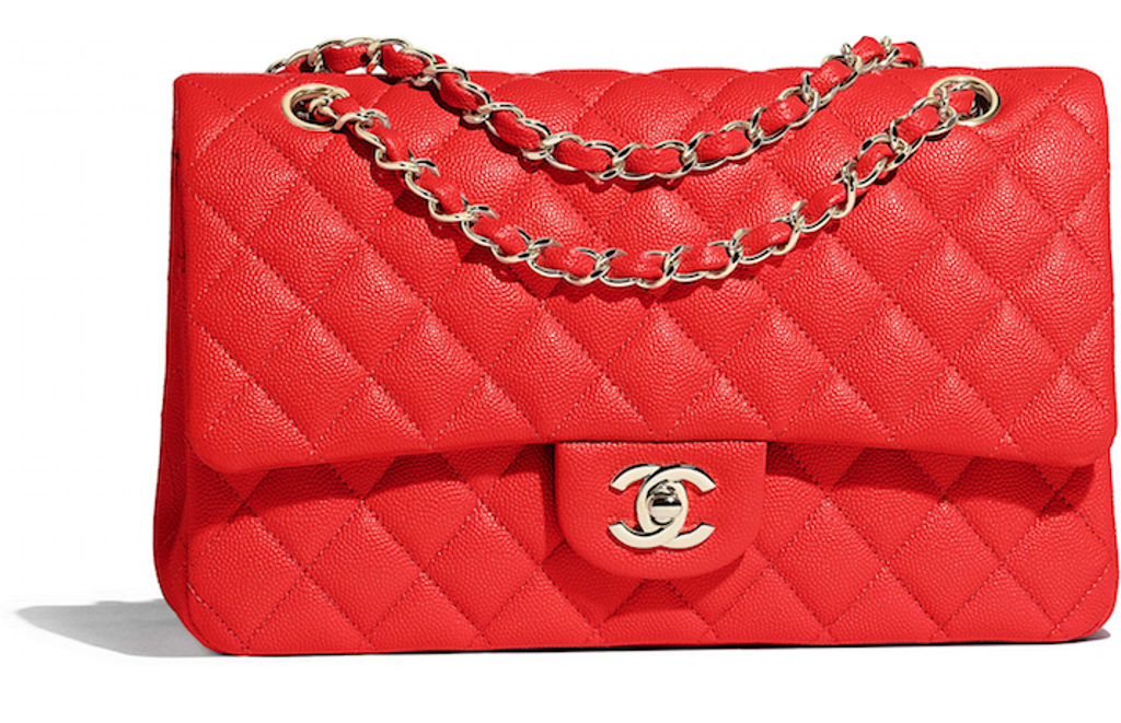 Sac Timeless en cuir (6825 $) de Chanel
