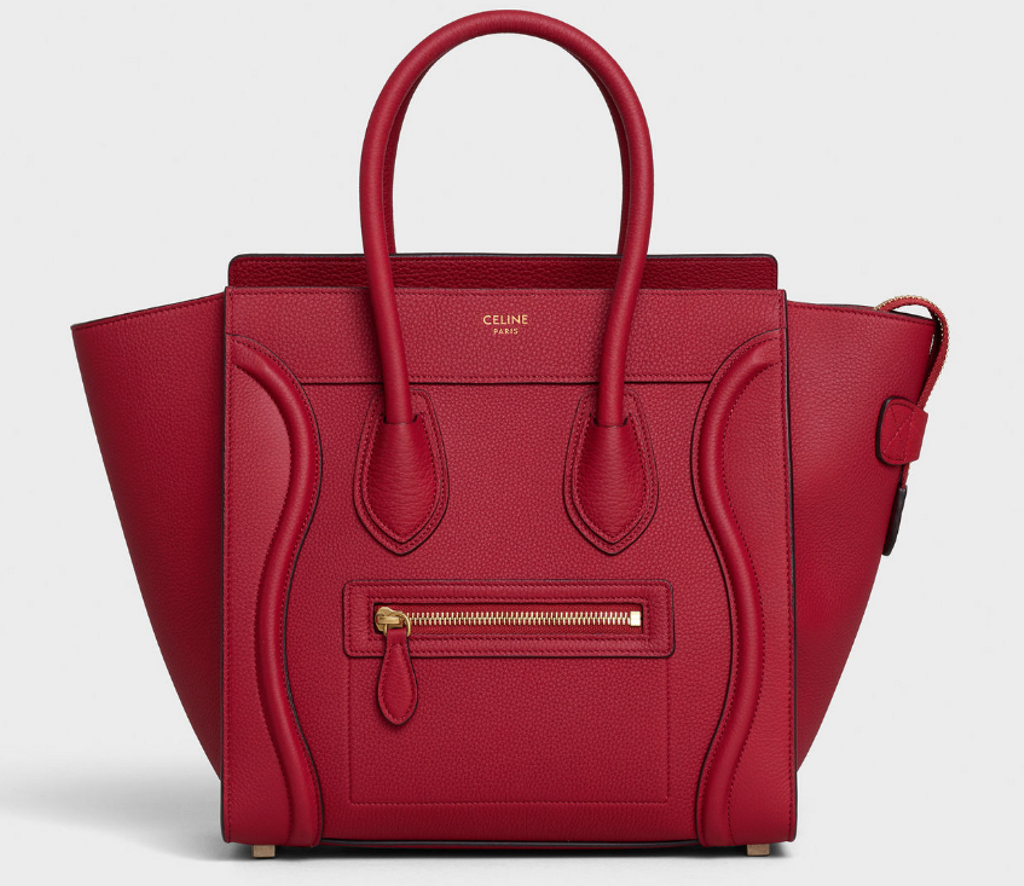 SAC MICRO LUGGAGE DE CELINE (3863 $)