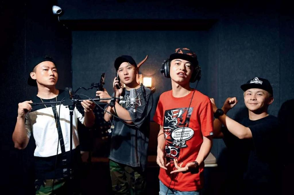 Le groupe de hip-hop chinois CD Rev