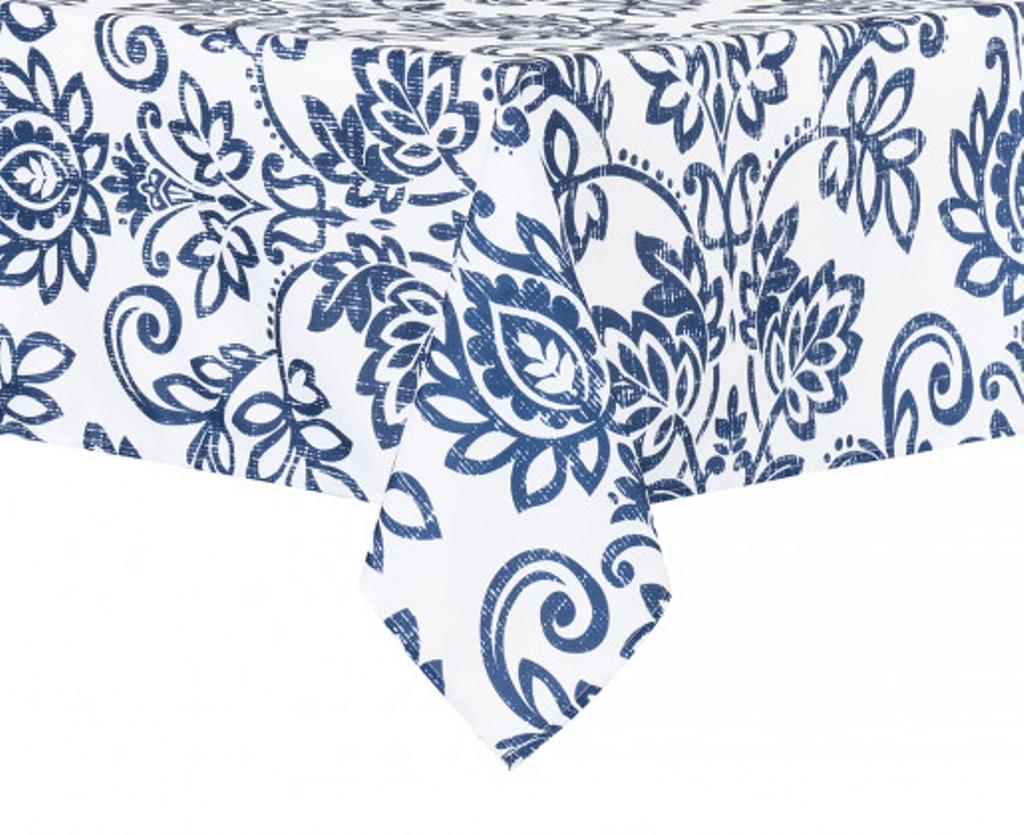 Nappe Happy Blue en polyester – Stokes