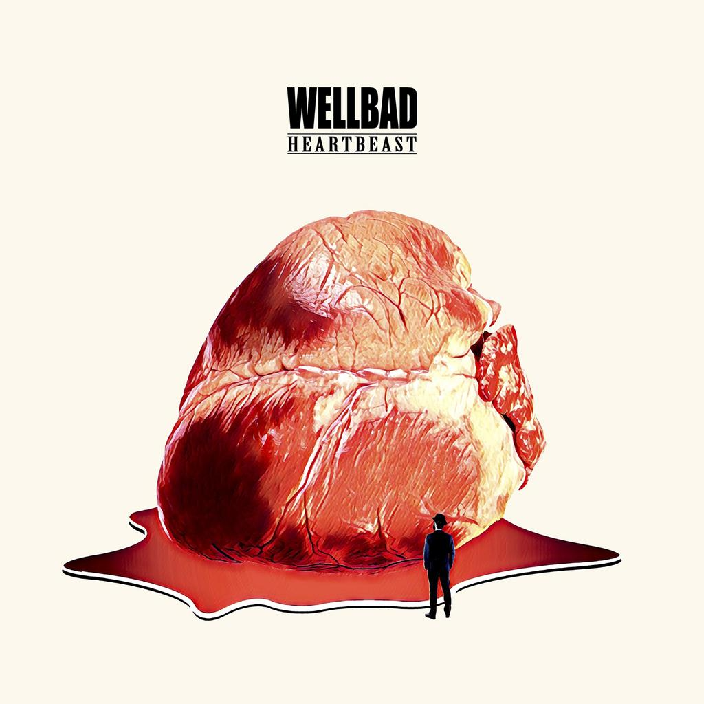 WELLBAD HEARTBEAST BLUES ROCK ANGLO Blue Central Records