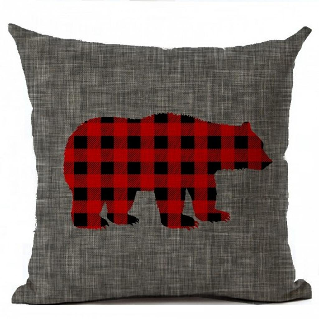 Coussin grizzly – Monpanier.ca