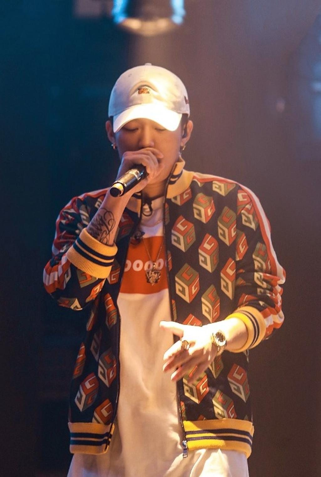 Le rappeur chinois PG One