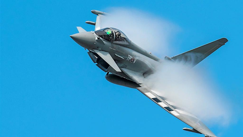 Le Typhoon, d'Eurofighter.