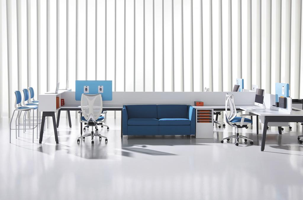 La collection Expansion Cityline de Teknion Roy & Breton