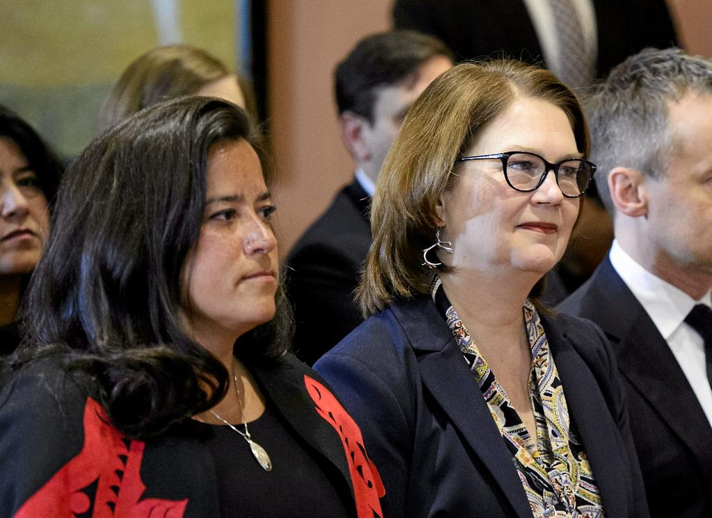 Jody Wilson-Raybould et Jane Philpott